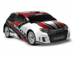 RED LaTrax Rally: 1/18 Scale 4WD Electric Rally Racer