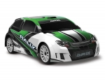 Green LaTrax Rally: 1/18 Scale 4WD Electric Rally Racer