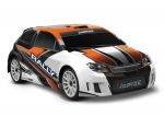 Orange LaTrax Rally: 1/18 Scale 4WD Electric Rally Racer