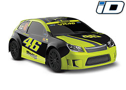 75064-5 LaTrax Rally: 1/18 Scale 4WD Electric Rally Racer with Officially Licensed Painted Body