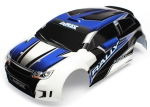 7514 Body, LaTrax® 1/18 Rally, blue (painted)/ decals