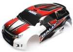 7515 Body, LaTrax® 1/18 Rally, red (painted)/ decals