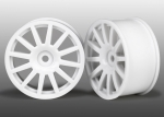 7571 Wheels, 12-spoke (white) (2)