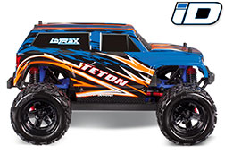 76054-5 LaTrax Teton: 1/18 Scale 4WD Electric Monster Truck
