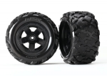 7672 Tires & wheels, assembled, glued (Teton 5-spoke wheels, Teton tires) (2)