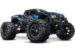 Blue X-Maxx: Brushless Electric Monster Truck with TQi Traxxas Link Enabled 2.4GHz Radio System & Traxxas Stability Management (TSM)