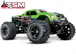 77086-4 X-Maxx®: Brushless Electric Monster Truck with TQi Traxxas Link™ Enabled 2.4GHz Radio System & Traxxas Stability Management (TSM)®