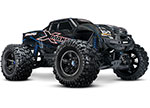 Blue X-Maxx®: Brushless Electric Monster Truck with TQi Traxxas Link™ Enabled 2.4GHz Radio System, Velineon® VXL-8s brushless ESC (fwd/rev), and Traxxas Stability Management (TSM)®