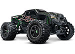 Black/Green X-Maxx®: Brushless Electric Monster Truck with TQi Traxxas Link™ Enabled 2.4GHz Radio System, Velineon® VXL-8s brushless ESC (fwd/rev), and Traxxas Stability Management (TSM)®