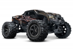 Orange X-Maxx®: Brushless Electric Monster Truck with TQi Traxxas Link Enabled 2.4GHz Radio System, Velineon VXL-8s brushless ESC (fwd/rev), and Traxxas Stability Management (TSM)®
