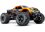 OrangeX X-Maxx®: Brushless Electric Monster Truck with TQi Traxxas Link™ Enabled 2.4GHz Radio System, Velineon® VXL-8s brushless ESC (fwd/rev), and Traxxas Stability Management (TSM)®