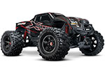 Red X-Maxx®: Brushless Electric Monster Truck with TQi Traxxas Link Enabled 2.4GHz Radio System, Velineon VXL-8s brushless ESC (fwd/rev), and Traxxas Stability Management (TSM)®