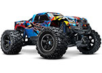 RNR X-Maxx®: Brushless Electric Monster Truck with TQi Traxxas Link™ Enabled 2.4GHz Radio System, Velineon® VXL-8s brushless ESC (fwd/rev), and Traxxas Stability Management (TSM)®