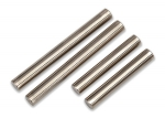 7742 Suspension pin set, shock mount (front or rear, hardened steel), 4x25mm (2), 4x38mm (2)