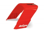7918 Canopy, roll hoop, red