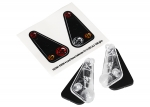 8014 Tail light housing (2)/ lens (2)/ decals (left & right) (fits #8011 body)