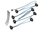 8026 LED rock light kit, TRX-4® (requires #8028 power supply and #8018, #8072, or #8080 inner fenders)