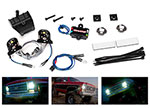 8039 LED light set (contains headlights, tail lights, side marker lights, distribution block (fits #8130 body, requires #8028 power supply)