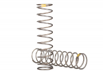 8042 Springs, shock (natural finish) (GTS) (0.22 rate, yellow stripe) (2)