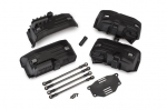 8058 Chassis conversion kit, TRX-4® (long to short wheelbase) (includes rear upper & lower suspension links, front & rear inner fenders, short female half shaft, battery tray, 3x8mm FCS (4))