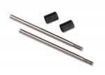 8161 Shock shaft, 3x57mm (GTS) (2) (includes bump stops) (for use with TRX-4® Long Arm Lift Kit)
