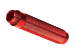 8162R Body, GTS shock, long (aluminum, red-anodized) (1) (for use with #8140R TRX-4® Long Arm Lift Kit)