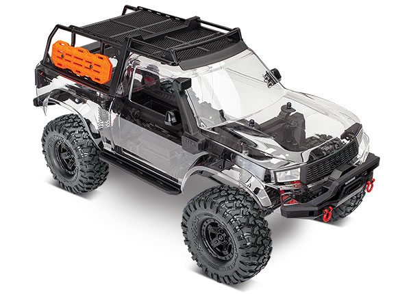 2 3x8 FCS Traxxas 8022X Fuel Canisters White 1 : TRX-4