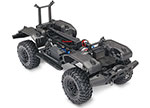 TRX-4® Unassembled Kit: 1/10 Scale 4WD Chassis with TQi Traxxas Link™ Enabled 2.4GHz Radio System, XL-5 HV ESC (fwd/rev), and Titan® 550 motor.