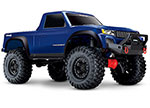 BLUE TRX-4 Sport:  1/10 Scale 4WD Electric Truck. Ready-to-Race® with TQ 2.4GHz Radio System, XL-5 HV ESC (fwd/rev), and Titan 550 motor.