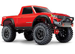 RED TRX-4 Sport:  1/10 Scale 4WD Electric Truck. Ready-to-Race® with TQ 2.4GHz Radio System, XL-5 HV ESC (fwd/rev), and Titan 550 motor.
