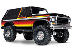 82046-4 TRX-4® Scale and Trail™ Crawler with Ford Bronco Body:  4WD Electric Truck with TQi Traxxas Link™ Enabled 2.4GHz Radio System