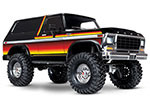 Sunset TRX-4® Scale and Trail® Crawler with Ford Bronco Body: 1/10 Scale 4WD Electric Truck. Ready-to-Drive® with TQi Traxxas Link™ Enabled 2.4GHz Radio System, XL-5 HV ESC (fwd/rev), and Titan® 550 motor.