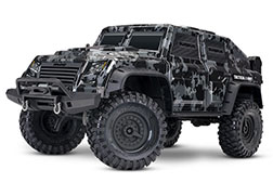 82066-4 TRX-4® Tactical Unit: 4WD Electric Truck with TQi Traxxas Link™ Enabled 2.4GHz Radio System