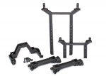 8215 Body mounts & posts, front & rear (complete set)