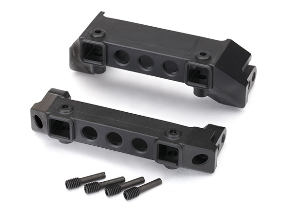 8237 Traxxas Bumper mounts front and rear TRX-4