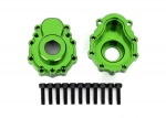 8251G Portal housings, outer, 6061-T6 aluminum (green-anodized) (2)/ 2.5x10 CS (12)