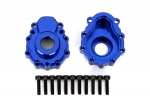 8251X Portal housings, outer, 6061-T6 aluminum (blue-anodized) (2)/ 2.5x10 CS (12)
