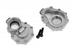 8253A Portal housings, inner (rear), 6061-T6 aluminum (charcoal gray-anodized) (2)/ 2.5x10 CS (2)
