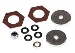 8254 Rebuild kit, slipper clutch (steel disc (2)/ friction insert (2)/ 4.0mm NL (1)/ spring washers (4), metal washer (1))