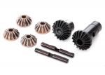 8282 Gear set, differential (output gears (2), spider gears (4), spider gear shaft (2))