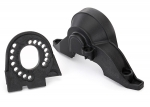 8290 Plate, motor/ upper spur gear cover
