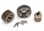 8293X Gear set, transmission, metal (includes 18T, 30T input gears, 36T output gear, 2x9.8 pins (5))