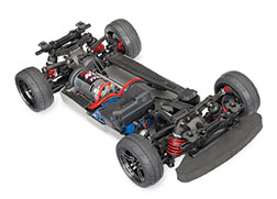 83024-4 4-Tec 2.0: 1/10 Scale AWD Chassis with TQ 2.4GHz Radio System