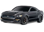 BLACK Ford Mustang GT: 1/10 Scale AWD Supercar.  Ready-To-Race® with TQ 2.4GHz radio system and XL-5 ESC (fwd/rev).