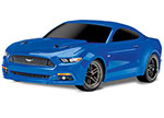 BLUE Ford Mustang GT®: 1/10 Scale AWD Supercar.  Ready-To-Race® with TQ 2.4GHz radio system and XL-5 ESC (fwd/rev).