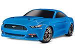 BLUEX Ford Mustang GT®: 1/10 Scale AWD Supercar.  Ready-To-Race® with TQ 2.4GHz radio system and XL-5 ESC (fwd/rev).