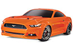 ORANGE Ford Mustang GT®: 1/10 Scale AWD Supercar.  Ready-To-Race® with TQ 2.4GHz radio system and XL-5 ESC (fwd/rev).