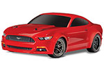 RED Ford Mustang GT: 1/10 Scale AWD Supercar.  Ready-To-Race® with TQ 2.4GHz radio system and XL-5 ESC (fwd/rev).