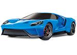 BLUEX Ford GT®: 1/10 Scale AWD Supercar with TQi Traxxas Link™ Enabled 2.4GHz Radio System & Traxxas Stability Management (TSM)®
