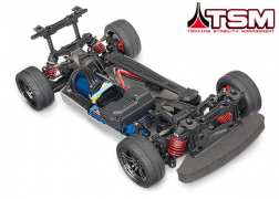 83076-4 4-Tec® 2.0 VXL: 1/10 Scale AWD Chassis with TQi Traxxas Link™ Enabled 2.4GHz Radio System & Traxxas Stability Management (TSM)®
